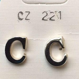 Orecchini a forma di C