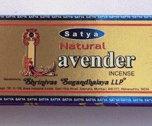 Incenso Satya Natural Lavender