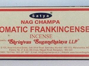 Satya Aromatic Frankincense