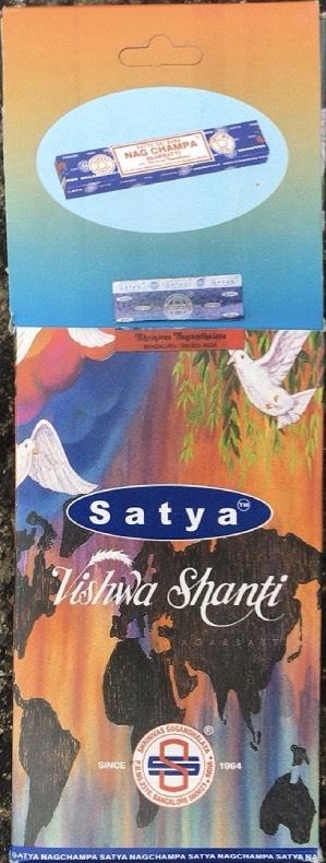Incenso Bastoncini Vishwa Shanti