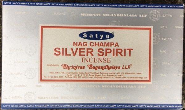 Incenso Bastoncini silver spiritual