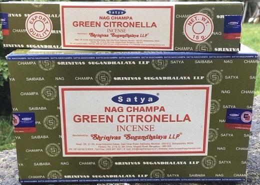 Incenso Bastoncini Green Citronella