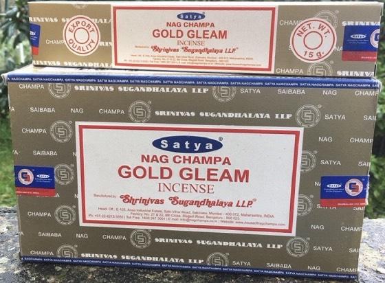 Incenso Bastoncini gold gleam