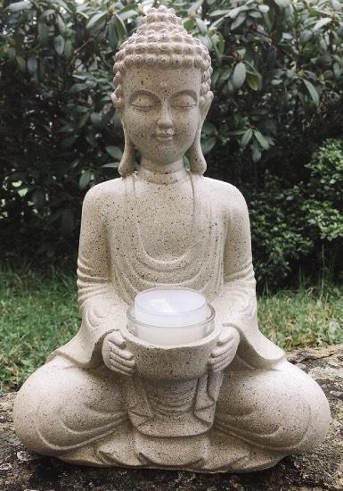 Buddha porta lumino