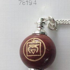 pendolo diaspro rosso