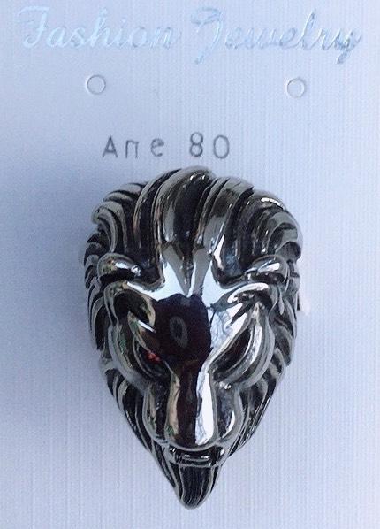 anello testa di leone