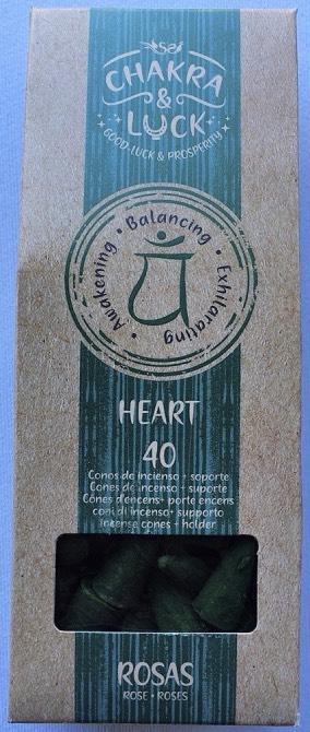 coni chakra cuore