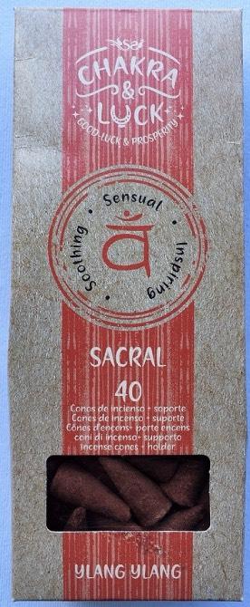 incenso coni chakra sacrale