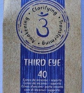 incenso coni chakra 3 occhio