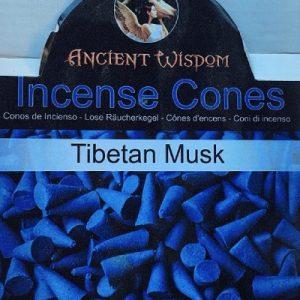 muschio tibetano coni