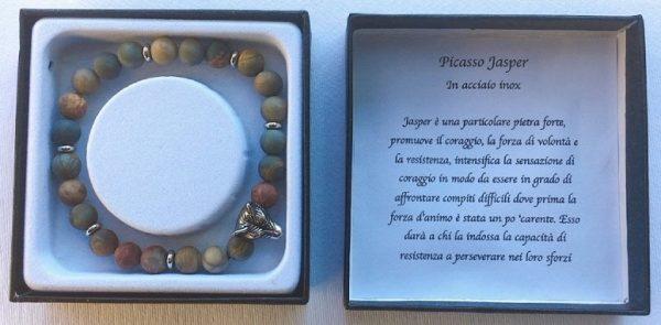 braccialetto Picasso Jasper