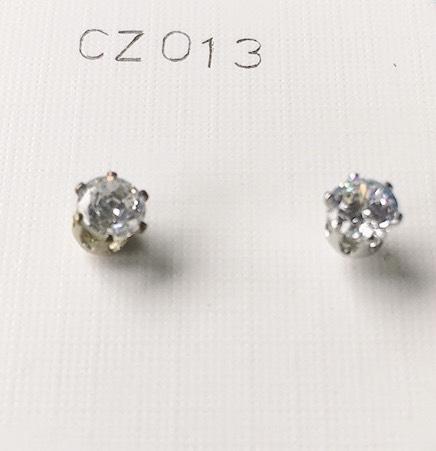 orecchini cristallo bianco