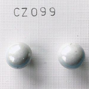 orecchini perle grigie