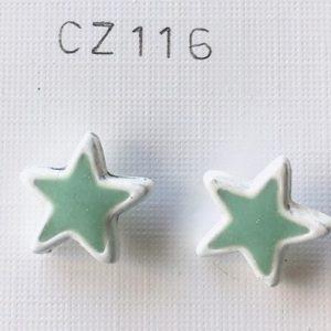 orecchini smaltati stella