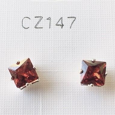 cristalli rossi quadrati