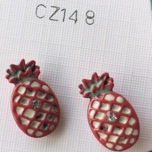 orecchini ananas