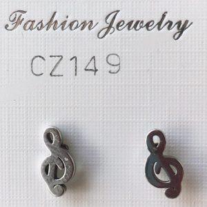 orecchini chiavi di violino