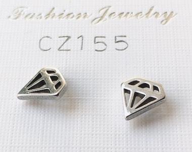 orecchini taglio diamante