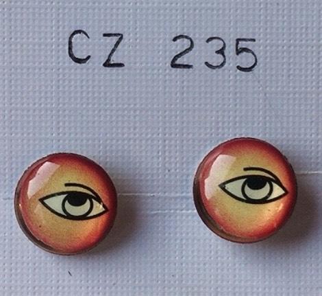 orecchini occhi
