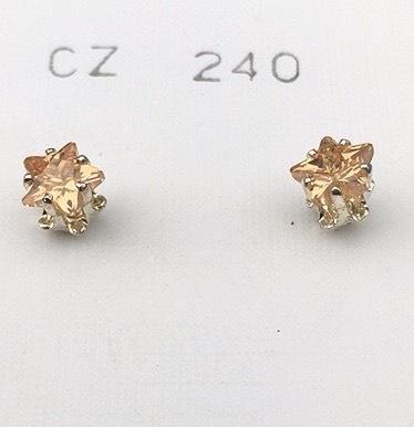 orecchini cristalli stella