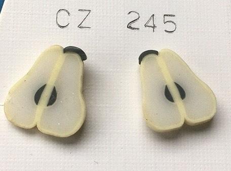 orecchini pere