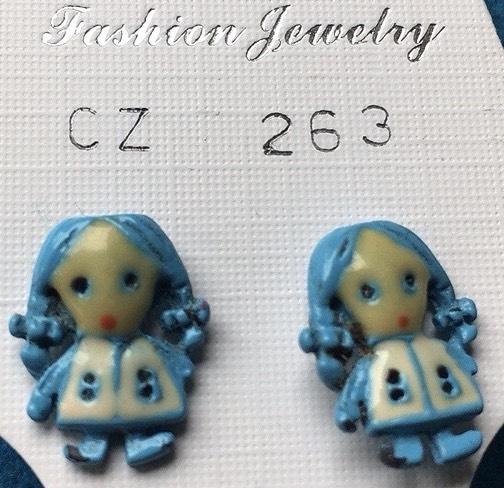 orecchini bamboline