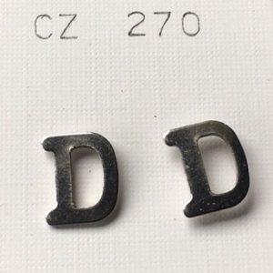 lettere d orecchini