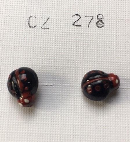 orecchini coccinelle