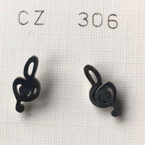 orecchini chiavi violino