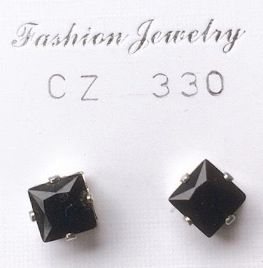 cristalli neri quadrati
