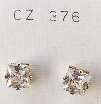 orecchini cristalli argento