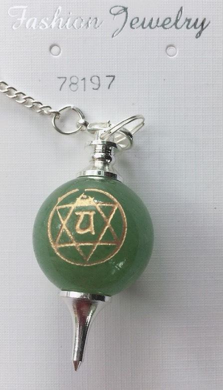 pendolo in Avventurina