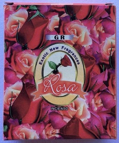 incenso coni rose gr