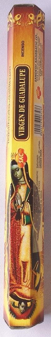 sac virgin de Guadalupe