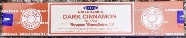 Satya dark cinnamon