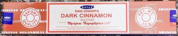 dark cinnamon incenso