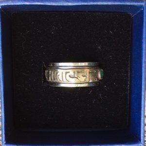 anello girevole in bronzo