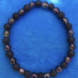 braccialetto pietra lavica