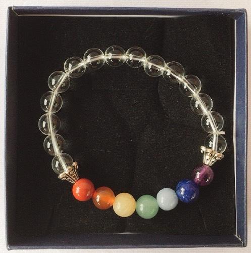 braccialetto cristallo di rocca