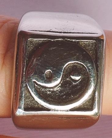 anello yin Yang tao