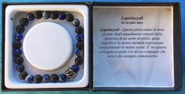 braccialetto lapislazzuli