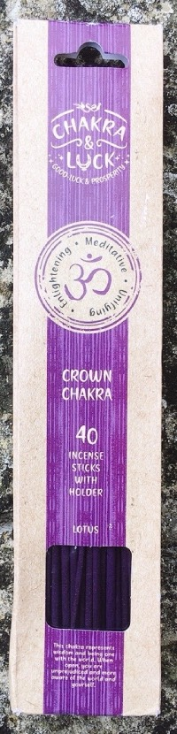 chakra corona incenso