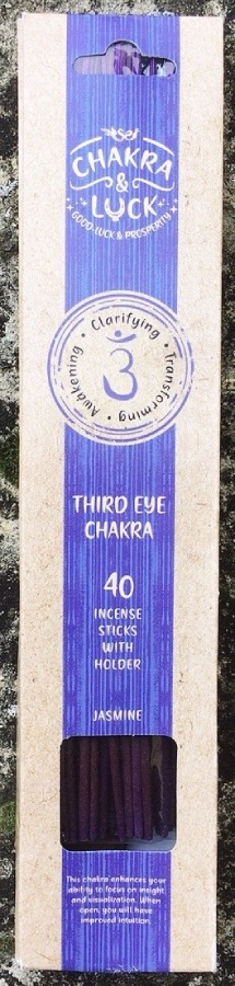 chakra terzo occhio incenso