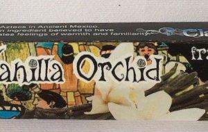 incenso vaniglia orchidea