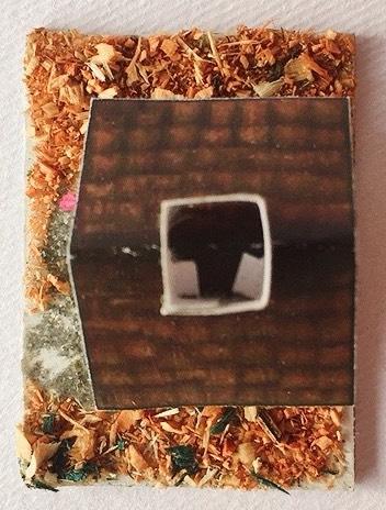 casetta in cartoncino