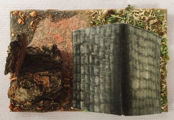 casetta presepe cartoncino