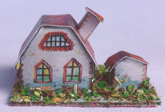 casina in cartoncino