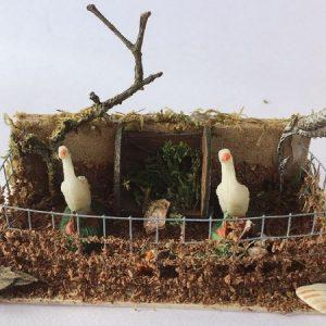 presepe recinto conigli