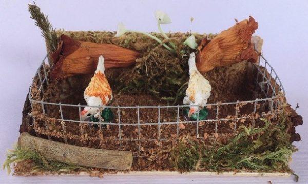 presepe galline