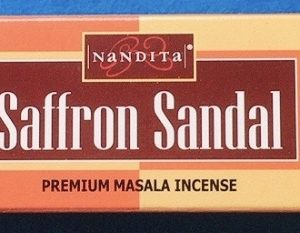 saffron sandal incenso